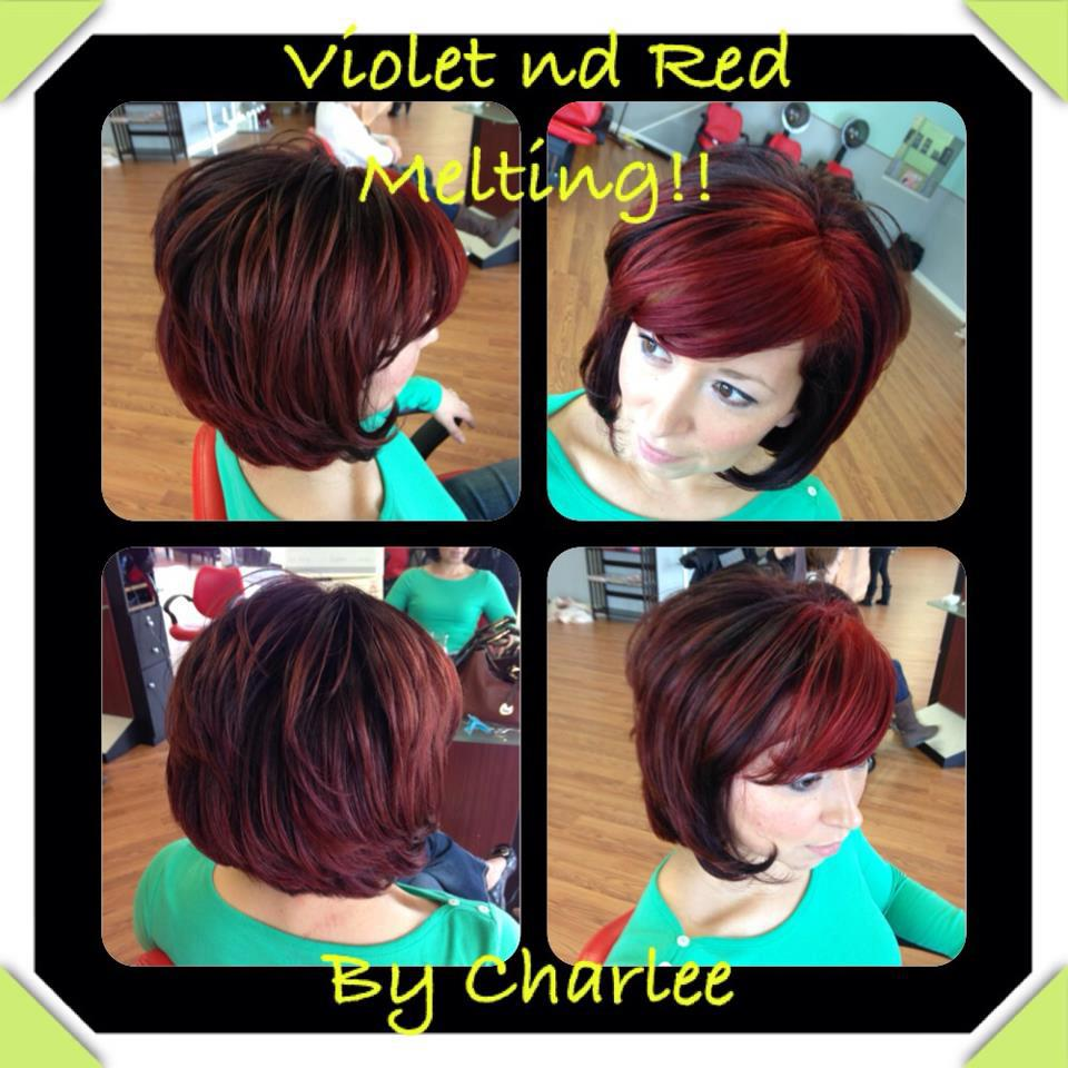 Firey Red Color- Aveda Stylist in Wilkes-Barre, PA