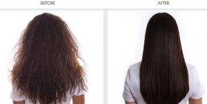 Brazilian Blowout Treatment - Before & After